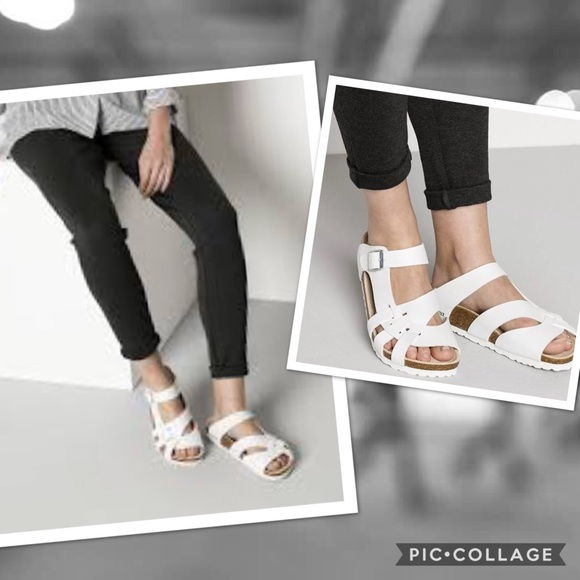 9931a8d49eb Birkenstock Pisa White sandals Sz 42. Birkenstock.  M 5b2001bd8ad2f9b01bdfd5df. M 5b200717aaa5b8626ff952b0.  M 5b200282f63eea5ebd2d703b